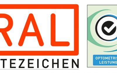 Anmeldung zur RAL Gütegemeinschaft Optometrische Leistungen möglich